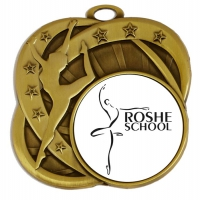 Sports Logo Medal Award Dance 2.75 Inch (70mm) Diameter : New 2020