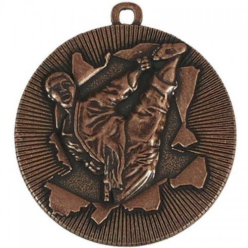 X-Plode50 Karate Medal Bronze 50mm
