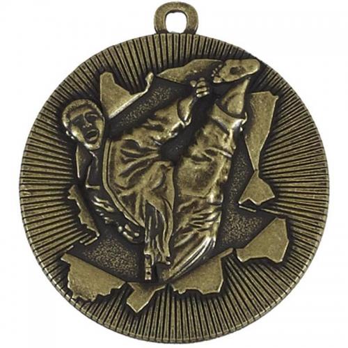 X-Plode50 Karate Medal Gold 50mm