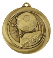 Globe Medal Award Football 2 Inch (50mm) Diameter : New 2020