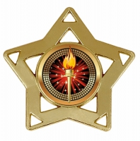 Mini Star Medal Gold 60mm