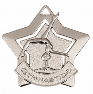 Mini Star Gymnastics Medal Silver 60mm