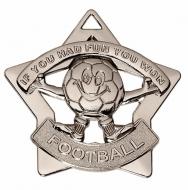 Mini Star If You had Fun Medal Silver 60mm