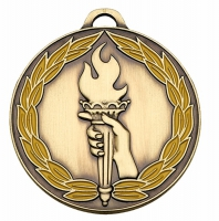 ClassicTorch50 Colour Medal Bronze 50mm