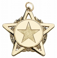 HopeStar50 Medal Gold 50mm