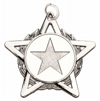 HopeStar50 Medal Silver 50mm