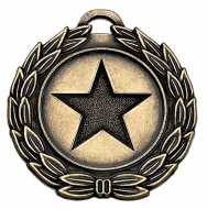 MegaStar40 Medal Bronze 40mm