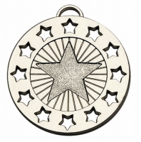 Constellation40 Medal Silver 40mm