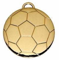 Football40 Medal Gold 40mm