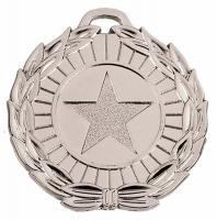 MegaStar50 Medal Silver 50mm