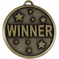 Elation Star50 Winner Medal Gold 50mm