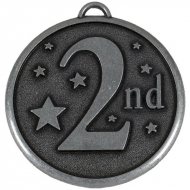 Elation Star50 2nd Medal Silver 50mm