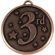 Elation Star50 3rd Medal Bronze 50mm