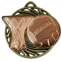 Vortex Netball Medal AGBH 50mm