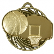 Vortex Basketball Medal AGGH 50mm