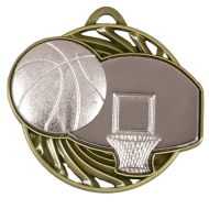 Vortex Basketball Medal AGSH 50mm