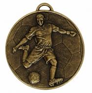 Helix60 Footballer Medal Bronze 60mm