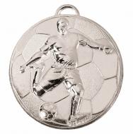 Helix60 Footballer Medal Silver 60mm