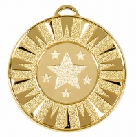 Target50 Flash Medal Gold 50mm