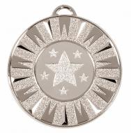 Target50 Flash Medal Silver 50mm