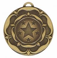 Target50 Tudor Rose Medal Bronze 50mm