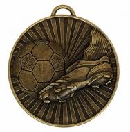 Helix60 Football Boot & Balll Bronze 60mm