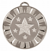 Target40 Flash Medal Silver 40mm