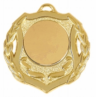 Shield50 Medal Gold 50mm
