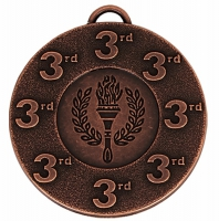 Target50 3rd Medal Award 2 Inch (50mm) Diameter : New 2020