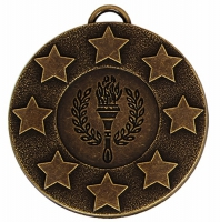 Target50 Stars Medal Award 2 Inch (50mm) Diameter : New 2020
