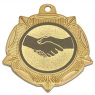 VF40 Tudor Rose Medal Gold 40mm