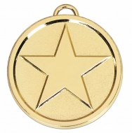 Star50 Bright Medal Gold 50mm