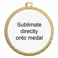 Personalised 50mm Medal Award 2 Inch (50mm) Diameter : New 2020