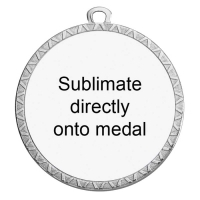 Personalised 70mm Medal Award 2.75 Inch (70mm) Diameter : New 2020