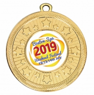 Personalised 50mm Medal 2 Inch (50mm) Diameter : New 2019