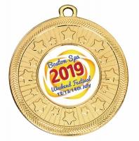 Personalised 50mm Medal 2 Inch (50mm) Diameter : New 2019