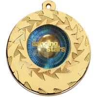 Personalised 50mm Prism Medal 2 Inch (50mm) Diameter : New 2019