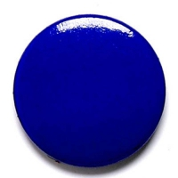 Blue Button Badge Blue 1 Inch