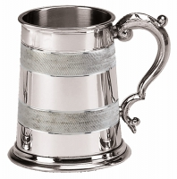 Celtic Embossed Tankard 1 Pt Pewter 1 Pint