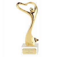 Rhapsody Ceremonial Gold Award Gold 9.5 Inch
