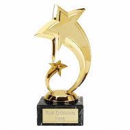 Shooting Star7 Gold Trophy Gold 7 Inch