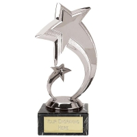 Shooting Star7 Silver Trophy Silver 7 Inch