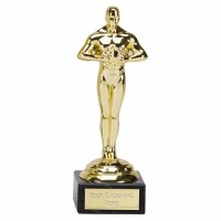 Icon Achievement Gold Statuette 7.75 Inch