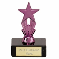 Micro Star Purple Trophy Purple 3.25 Inch