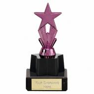Micro Star Purple Trophy Purple 4.25 Inch