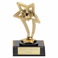 Curve Star5 Trophy Gold 5.25 Inch