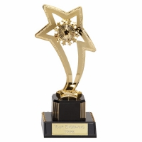 Curve Star8 Trophy Gold 8 Inch
