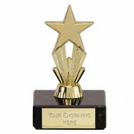 MicroStar3 Gold Trophy Gold 3.25 Inch
