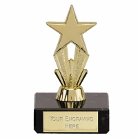 MicroStar3 Gold Trophy Gold 3.25 Inch