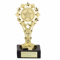 AllStar5 Trophy (FT29A) Gold 5.25 Inch